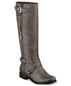 Women's Boots Wide Calf | ... Women's Boots, Hertlez Tall Shaft Wide Calf Boots - Shoes - Macy's