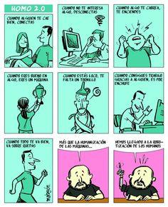 Qué buena tira de José Rubio Malagón (Madrid, 1972) para repasar con humor algo de lenguaje coloquial y expresiones.