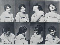 Planche de 8 vues d'un modèle féminin en buste by Louis Jean-Baptiste Igout, c. 1875