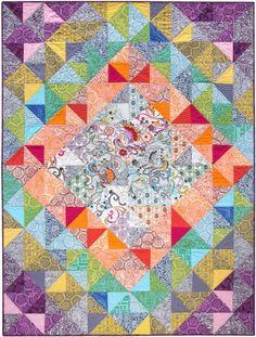 ~free pattern ~Journey Quilt at Robert Kaufman Fabric Company
