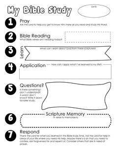 Bible Study Guide for Kids + FREE Printable Digging deep in the Word is taught. Help your kids deepen their relationship with the Lord using this Bible Study Guide for Kids. Family Bible Study, Bible Study Notebook, Bible Study Plans, Bible Study Guide, Free Bible Study, Bible Study For Kids, Bible Study Journal, Bible Lessons For Kids, Kids Bible Studies