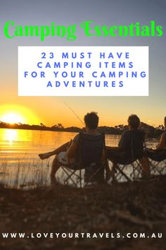 #camping must haves for any #campingtrip or #roadtrip adventure! Our favourite items that we always have packed and we think you should to!