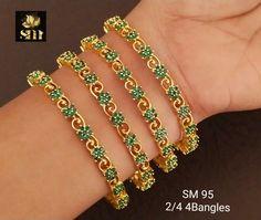 Designer Bangles, Gold Material, Bangle Bracelets, Jewellery, Diamond, Bracelet, Jewels, Jewelry Shop, Jewerly