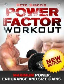 Pete Sisco's Power Factor Workout