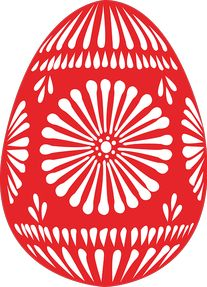 Free Easter Clipart - Public Domain Holiday/Easter clip art, images and graphics Kirigami, Egg Crafts, Easter Crafts, Art D'oeuf, At Home Waxing, Egg Yellow, Easter Egg Basket, Easter Egg Designs, Coloring Easter Eggs
