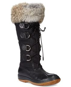 I absolutely will own these.  Rudsak Begonia Cold Weather Boots - Shoes - Macy's