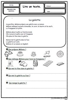 French Videos For Kids Schools How To Learn French At Home Product French Language Lessons, French Language Learning, French Lessons, Read In French, Learn French, French Teaching Resources, Teaching French, French Practice, French Worksheets
