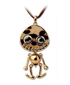Skull Imp Pendant Design Necklace