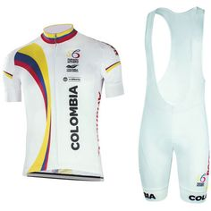 2017 Team Colombia Cycling jersey bike short set quick-dry bike clothing MTB Ropa Ciclismo bicycling maillot Culotte