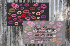 Got Lips  LipSense Business Card      Printable   by ShesBackAtIt