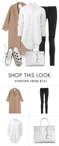 """Untitled #2602"" by elenaday ❤ liked on Polyvore featuring Monki, rag & bone, Yves Saint Laurent, women's clothing, women's fashion, women, female, woman, misses and juniors"