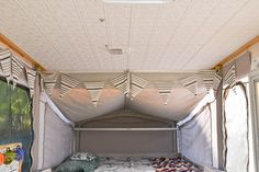 Pop-Up Camper Remodel: Giving the Ceiling a Facelift - Refresh Living