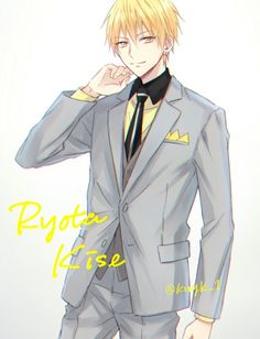 Kise Ryōta 黄瀬 涼太, Kaijō Kōkō #kise #knb