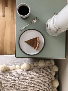 Taking it slow. Enjoying pumpkin pie in bed. #pumpkin #pumpkinspice #pumpkinpie #thanksgiving #thanksgivingrecipes #decor #decoration #home #homedecorideas #homesweethome #slow #slowliving #slowdown Slow Living, Interior S, Thanksgiving Recipes, Pumpkin Spice, Sweet Home, Bedroom Decor, Pie, House Design, Home Decor