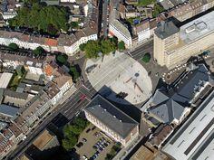 Bahnhofplatz Aachen / HH+F Architekten Hentrup Heyes + Fuhrmann / Bahnhofplatz, 52064 Aachen, Germany