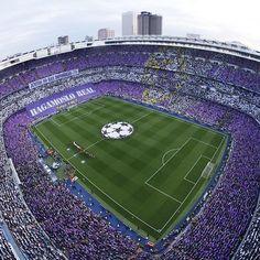 ⚽️ #APorLaUndecima One stadium, the Santiago Bernabéu... One feeling, madridista... One support, you... One chant, #HalaMadrid! - Un estadio, el Santiago Bernabéu Un sentimiento, el madridista Una afición, vosotros Un grito, ¡#HalaMadrid!