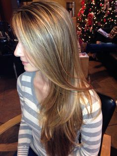 honey blonde highlights on light brown hair - Google Search