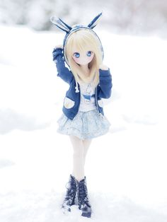 Beautiful Barbie Dolls, Pretty Dolls, Kawaii Doll, Kawaii Anime, Cute Japanese Girl, Anime Figurines, Anime Toys, Realistic Dolls, Figure Photography