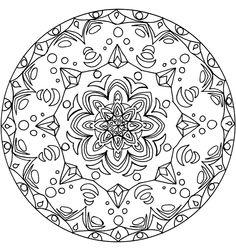 Mandala`s kleurplaten — vind en print je op ukko.nl
