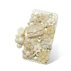 Handmade hard case for Sony Xperia SL Bling Purse by CheersCases, $34.99