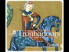 """'Century 4 - Trouvères & troubadours', a compilation of French and Spanish secular monodic medieval repertoire in the Harmonia Mundi series """"Century. Musique des siècles. A History of Music""""."""