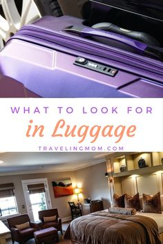 Tips for Choosing the Right Travel Luggage. Knowing what to look for in luggage is only half the battle because you'll need to find sets that meet all of your needs with style and elegance.