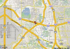 cool Map of Irving Texas