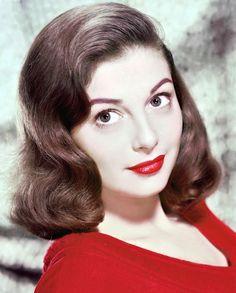 Italian actress Pier Angeli, circa 1955