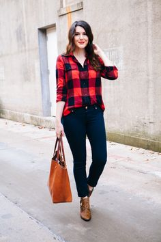 Flannel Friday - Kendi Everyday,