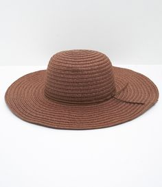 Chapéu de Praia com Detalhe de Suede - Lojas Renner 1dcfafb9655
