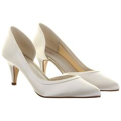 bc0f595d83a Rainbow Club Abbie Slip-On Court Shoes at John Lewis   Partners. Dyeable  Wedding ...