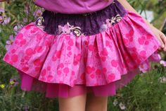 Twirly Skirts tutorial || Like Flowers and Butterflies