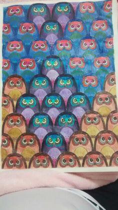 """Décima quinta ilustração de """"O livro anti-insônica"""". The Can't Sleep Colouring Book (Creative Colouring for Grown-Ups)"""