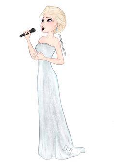 Elsa singing