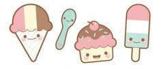 Ice cream kawaii ♥