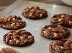 Learn how to make REESE Chewy Chocolate Cookies Recipe with this easy recipe from HERSHEY'S Kitchens.