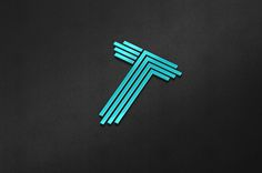 """T"" Character Logo Template on Behance"
