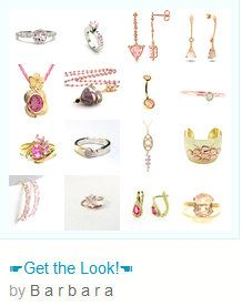 ☛Get the Look!☚ Treasury by  www.etsy.com/shop/paroliro features pink stones, tourmaline, morganite, amethyst hand made and vintage rings, earrings and necklaces jewelry offerings from worldwide fellow Etsians; [*Click on image to see all 16 items I chose.]☚ --Pinned with TreasuryPin.com