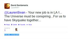 Tweeted before the L.A winds event of Dec 2, 2011