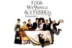 Four Weddings and a Funeral Find more at http://alizaumer.com/mr-bean-movie-rowan-atkinson-movies-list/