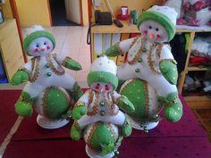 Christmas snowman on snow globe. Felt Snowman, Snowman Crafts, Felt Crafts, Diy Crafts, Christmas Room, Christmas Snowman, Christmas Crafts, Christmas Ornaments, Felt Christmas Decorations