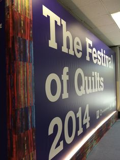 The Festival of Quilts 2014
