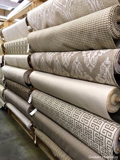 Shopping for Fabrics - Southern Hospitality Home Curtains, Curtain Designs, Metal Wall Decor, Fabric Textures, Fabric Shop, Sofa Design, Soft Furnishings, Fabric Design, Upholstery