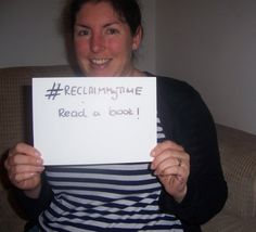 Laura would spend her time reading a good book! #ReclaimMyTime