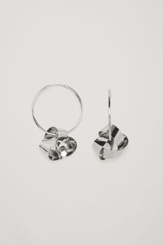 COS image 2 of Earrings with abstract pendants in Silver