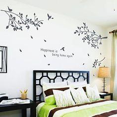 vinilos decorativos de arboles - blogicasa | decoraciÓn ... - Stickers Murali Ikea