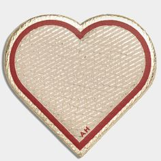 Heart Leather Sticker