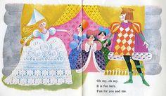 Cinderella at the Ball 1970 by Kay Aker, via Flickr