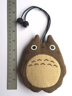 Adorable TOTORO Key Cover / Case with little soot sprite toggles