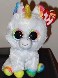 Ty Beanie Boos Pixy The Unicorn 6 Inch New Mwmt Beanie Boos Ty Beanie Boos All Beanie Boos